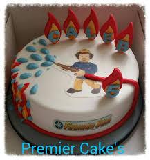 fireman sam cake torte kindergeburtstag junge