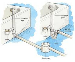 removeing bathtube drain trap bathroom design