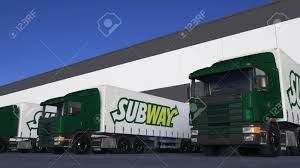 Freight Semi Trucks With Subway Logo Loading Or Unloading At.. Stock ... Breaking Pappy Van Winkle Delivery Truck Accidentally Delivered Doniphan Used Vehicles For Sale Subway Forces Sick Employee To Keep Working Eater 2007 Mitsubishi Fuso Fe140 Stk 0c6214 Subway Parts Youtube Parts 2008 Ford F250 Xl 54l 4x4 Truck Inc Dade Corners Marketplace Fuel Wash Parking Sapp Bros Denver Co Travel Center Semitrailer Crashes Into Restaurant In Platte County Police Freight Semi Trucks With Logo Driving Along Forest Road Colfax Pickup Truck South Fargo Ford F150 Extended Cab Interior Xlt L V Subway Parts Inc Auto
