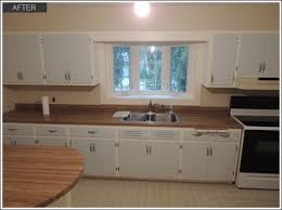 Vintage Kitchen Cabinet Painting Lake Bluff Il After11