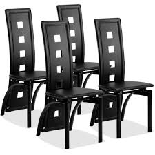 Giantex Set Of 4 Dining Chairs PVC Leather Iron Frame High Back Home  Furniture White New Home Furniture HW59220 Designer Green Ding Chair On Black Metal Legs Modern Soft Us 4896 28 Offfashion Classic Stainless Steelleather Chairsliving Room Chairblack White Metal Leather Fniturein Ding Giantex Set Of 4 Chairs Pvc Iron Frame High Back Home Fniture White New Hw59220 Callisto And Steel Cantilever Chair Distressed Antique 2 Angelina Wood Lexi Pair Gold Linen Fabric Tolix Style Industrial Room Y120 White Ding Chair Chrome Metal Base By Grako Selections Buschman Matte Inoutdoor Stackable Tig In 2019 Giselle