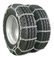 Glacier Twist-Link Snow Tire Chain With Cam Tighteners For Dual ...
