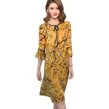 2017 Spring Summer New Dress Vintage Style Fashion Women Rayon Dresses Casual Loose O Neck