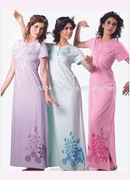 night wear printed gown india online shoping women night gown