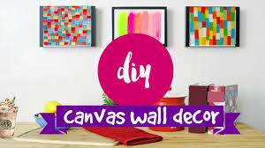 DIY WALL ART 2 Supereasy Simple Canvas Ideas