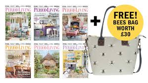 100 Home Decorating Magazines Free Get A FREE Sophie Allport Bees Bag With A Period Living
