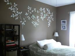 Wall Painting Designs For Bedrooms Well Walls In Of Good Pics