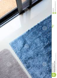 Download Blue Carpet Softness Texture Decoration Floor Interior Stock Photo