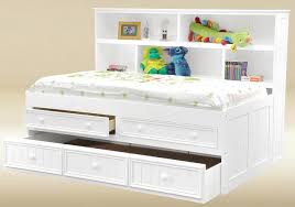 natasha big bookcase captain s bed