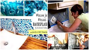 Diy Backsplash Ideas For Kitchen by 24 Cheap Diy Kitchen Backsplash Ideas And Tutorials You Should See