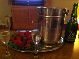 Lamp Liter Inn Visalia Check In by Champagne And Strawberries On Our Wedding Night And End To A