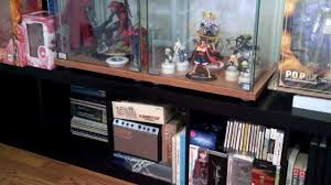 Detolf Glass Door Cabinet Ikea by Ikea Detolf Expedit Puck Light Anime Figure Collection Setup Youtube