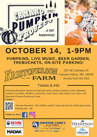 Live Oak Pumpkin Patch 2017 by Camano Pumpkin Project Kristoferson Farm October 14