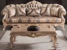 casa padrino luxus barock wohnzimmer sofa mit kissen taupe bronze gold 243 x 89 x h 106 cm barock möbel
