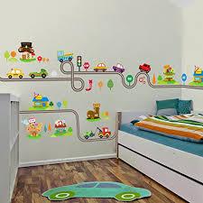 amaonm removable room wall decal diy vinyl city