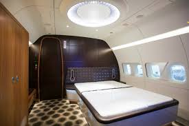 Luxury Living Best Private Jet Interior Designs