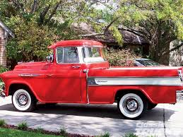 1957 Chevrolet Cameo - Hot Rod Network 1957 Chevrolet Cameo Carrier 3124 Halfton Pickup Chevrolet Cameo Streetside Classics The Nations Trusted 1955 Pickup Truck Stock Photo 20937775 Alamy Rare And Original Carrier Pickup Sells For 1400 At Lambrecht Che 1956 3100 Volo Auto Museum 12 Ton Chevy Cameo Gmc Trucks Antique Automobile Club Of Sale 2013036 Hemmings Motor News On The Road Classic Rollections 1958 Start Run External Youtube Chevy Forgotten Truckin Magazine