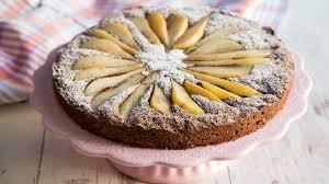süßer birnen schoko kuchen