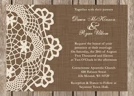Cheap Rustic Wedding Invitations