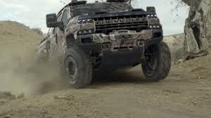 100 Military Chevy Truck Chevrolet Silverado ZH2 Is A Fuel CellPowered HeavyDuty