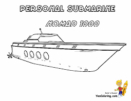 Print Out Picture Of Private Submarine Nomad 1000