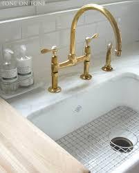 Unlacquered Brass Bar Faucet by Unlacquered Brass Kitchen Faucet Cepagolf