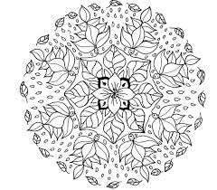 Background Coloring Free Printable Mandalas To Color For Adults In