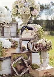Vintage Wedding Decor Ideas To Use Mirror Flowers And Frames