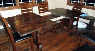 Farmhouse Table With Leaves Farm Room Self