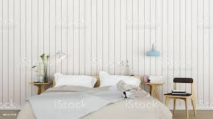 innen schlafzimmer platz in eigentumswohnungen und wand holz dekoration 3d rendering stockfoto und mehr bilder boden