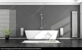 lizenzfreies bild 23109515 schwarz weiß modernes badezimmer