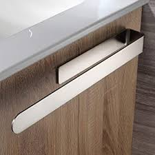 ruicer bad handtuchhalter ohne bohren handtuchstange selbstklebend handtuchring edelstahl 37cm