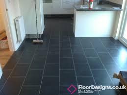 wonderful chic slate vinyl flooring kitchen combining amtico and