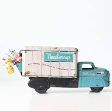 100 Toy Trucking Vintage Newberrys Truck Louis Marx Made In USA Etsy