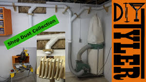 Shop Dust Collection System 021 - YouTube Dust Collection Fewoodworking Woodshop Workshop 2nd Floor Of Garage Collector Piping Up The Ductwork Youtube 38 Best Images On Pinterest Carpentry 317 Woodworking Shop System Be The Pro My Ask Matt 7 Small For Wood Turning And Drilling 2 526 Ideas Plans