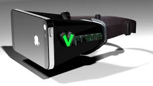 Fully Immersive iPhone Virtual Reality Head Mounted Display