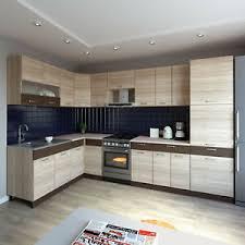 details zu küche l form alina mit hochschrank 180 x 320 cm küchenzeile einbauküche neu