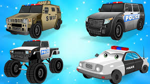 100 Youtube Truck Videos Police Car For Children Kids Police Vehicles For