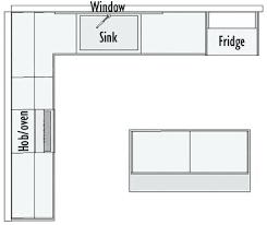 L Shaped Kitchen Layout Plans Custom Kitchens Design Inspiration