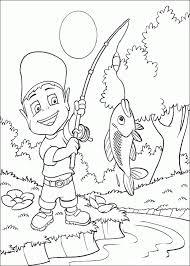 Fishing Adiboo Coloring Pages 39 Free Printable