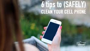 All Natural DIY Cell Phone Screen Cleaner 3 Ingre nts Page