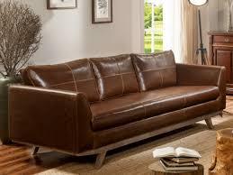 canapé et fauteuil vintage en cuir vieilli chocolat alegan
