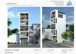 100 House Design Project MODERN FLAT HOUSE KG EC CoLtd