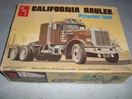 100 Amt Model Trucks AMT Peterbilt 359 California Hauler T500 Car Boxes