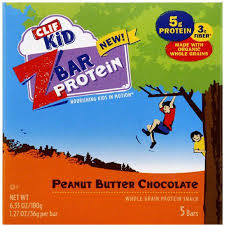 CLIF Kid ZBar Protein Peanut Butter Chocolate Snack Bars 635 Oz Pack Of