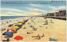 100 Million Dollar Beach The Million Dollar Beach And Boardwalk From Ocean Pier Virginia