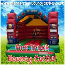 Fire Truck Bouncy Castle Hire Newtownards