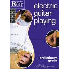 preli guitare a le electric guitar preliminary grade