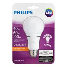 home lighting way led light bulb philips frosted lumen home