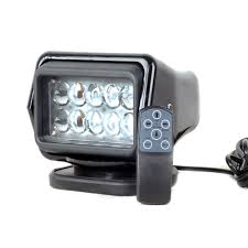 100 Truck Spot Light IP67 10 30V Remote Control LED Searchlight 7inch 50W Light LED